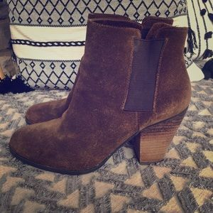 Vince Camuto Suede Ankle Boots